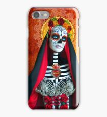 Santa Muerte iPhone Case/Skin