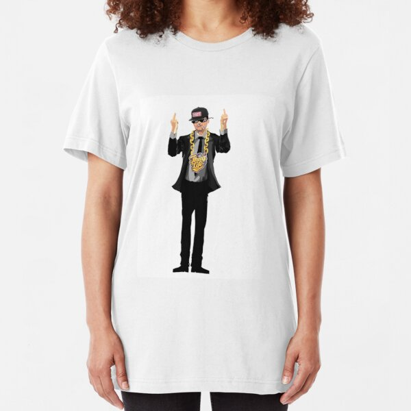 Ben Shapiro Thug Life #54 Slim Fit T-Shirt