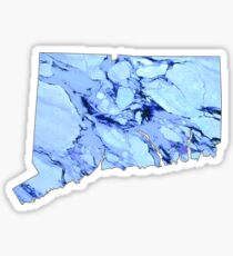 Marble Connecticut Sticker