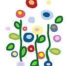 Flower garden by goanna