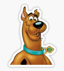 Natural Scooby Doo Sticker