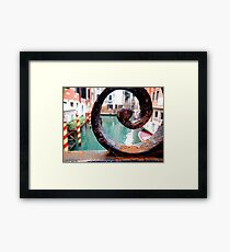 Italian Bridge Framed Print