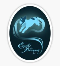 Expecto Patronum! (Jack Russell Terrier) Sticker