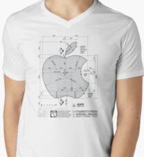 Apple Construction Dimensions Men's V-Neck T-Shirt