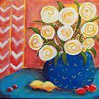 Circle Flowers by Lee Owenby