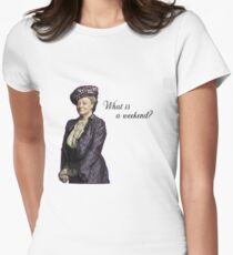 Witwe Tailliertes T-Shirt