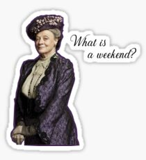 dowager Sticker