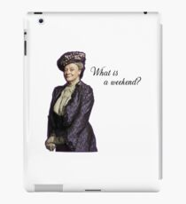 dowager iPad Case/Skin