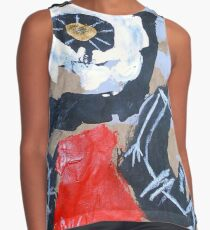 red rise Contrast Tank