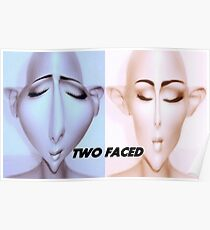 TWO FACED Poster