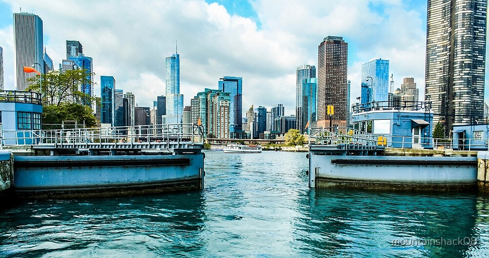 The Chicago Locks by mountainshack08