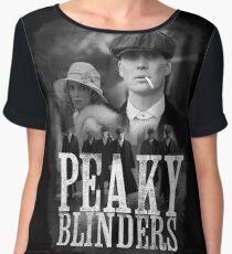 peaky blinders TV series cinema Cillian Murphy козырьки Chiffon Top
