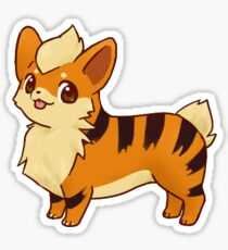 Growlithe Corgi Sticker