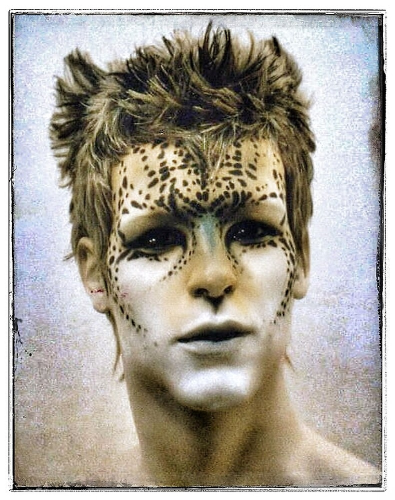 CHEETAH MAN by cherylkerkin