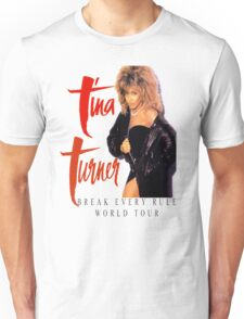 Tina Turner - World Tour - Reproduction Concert Tee 1987 Unisex T-Shirt