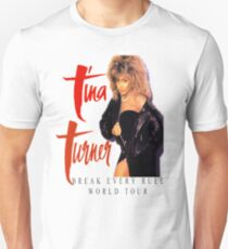 Tina Turner - World Tour - Reproduction Concert Tee 1987 Unisex T-Shirt