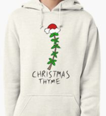 Christmas Thyme Pullover Hoodie