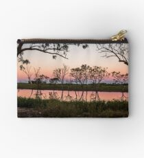 Queensland outback sunset Studio Pouch