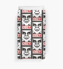 Obey The Giant Duvet Cover