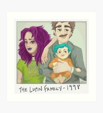 The Lupin Family Art Print