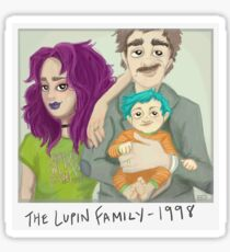 The Lupin Family Sticker