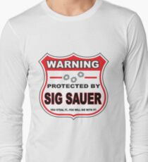 Sig Sauer Protected by Sig Sauer Long Sleeve T-Shirt