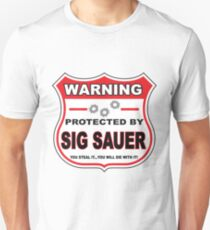 Sig Sauer Protected by Sig Sauer T-Shirt