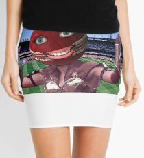 Cricket Ball Warrior Mini Skirt