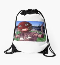 Cricket Ball Warrior Drawstring Bag