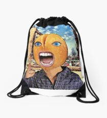 Peanut Head Drawstring Bag