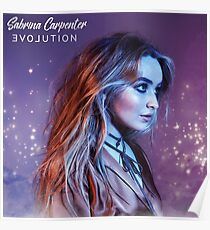 Sabrina Carpenter EVOLution 2.0 Poster