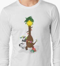 Alolan Christmas - Pokemon SUN and MOON Shirt Design Long Sleeve T-Shirt