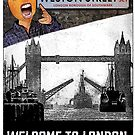 Welcome To London - Peanut Head by JoelCortez