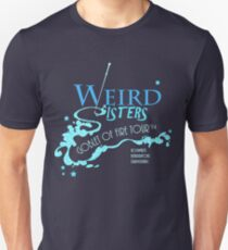 The Weird Sisters Goblet of Fire Tour '94 blue Unisex T-Shirt
