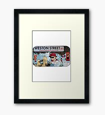 London Homeage Framed Print