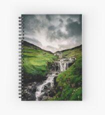 Haldarsvik Mist Spiral Notebook