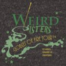 The Weird Sisters Goblet of Fire Tour '94 green by KrisKenshin