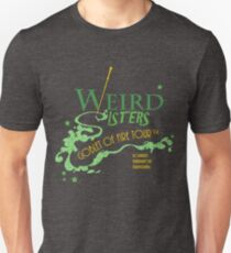 The Weird Sisters Goblet of Fire Tour '94 green T-Shirt