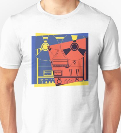 Reel To Reel Pop Art T-Shirt