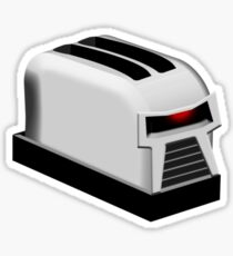 Frakking Toaster Sticker