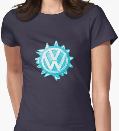 Aqua-blue VW look-a-like Swirl T-Shirt