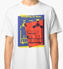 Pop Art Reel To Reel Classic T-Shirt