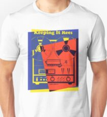 Pop Art Reel To Reel T-Shirt