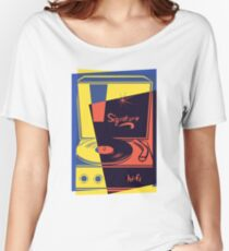 Vintage Vinyl Turntable Women's Relaxed Fit T-Shirt