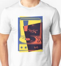 Vintage Vinyl Turntable Unisex T-Shirt