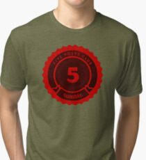 5 Posts Club Tumblr Tri-blend T-Shirt