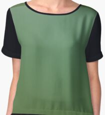 Bosherston Lilly Ponds Green Women's Chiffon Top