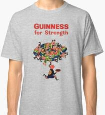 Guinness Vintage Rugby Ad Classic T-Shirt