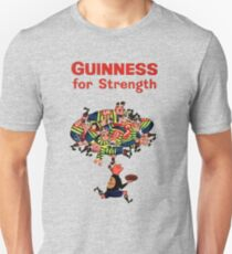 Guinness Vintage Rugby Ad Unisex T-Shirt