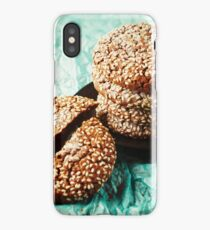 Fresh Baked Cookies with Sesame iPhone Case